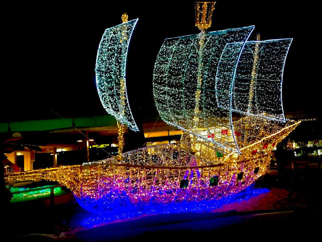 Captain Hook's sailing ship